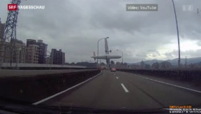 Video «Flugzeugabsturz in Taiwan» abspielen