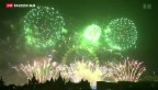 Video «Silvesterfeiern weltweit» abspielen