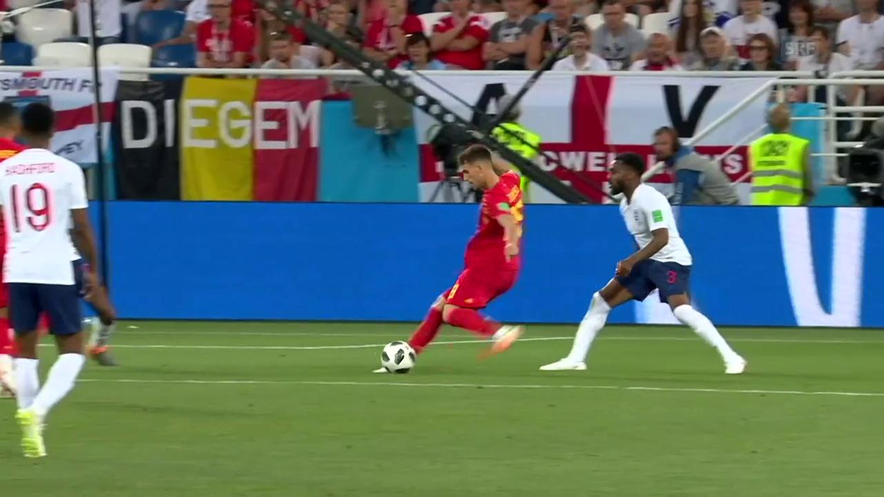 Belgien mit 1:0-Sieg gegen England