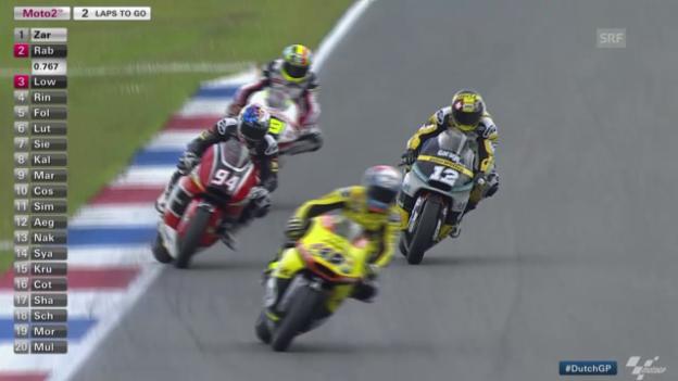 Video «Motorrad: Zusammenfassung GP von Assen» abspielen