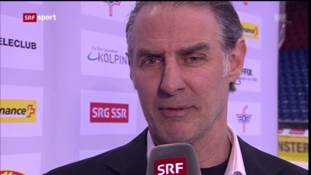 Video «Eishockey: Stimmen zum Strichkampf («sportaktuell»)» abspielen
