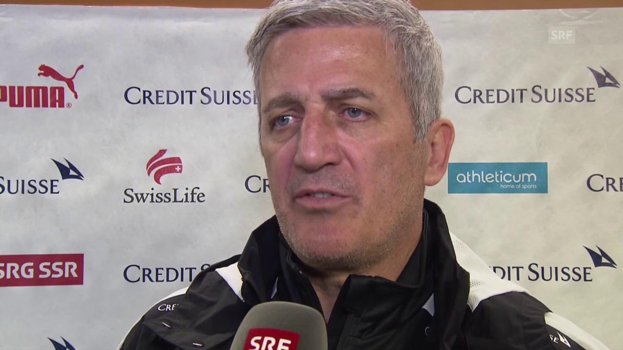 Vladimir Petkovic vor dem Spiel gegen Bosnien-Herzegowina
