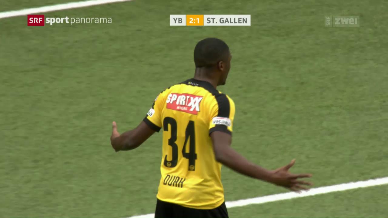 Kwadwo Duah erzielt sein bislang einziges Super-League-Tor