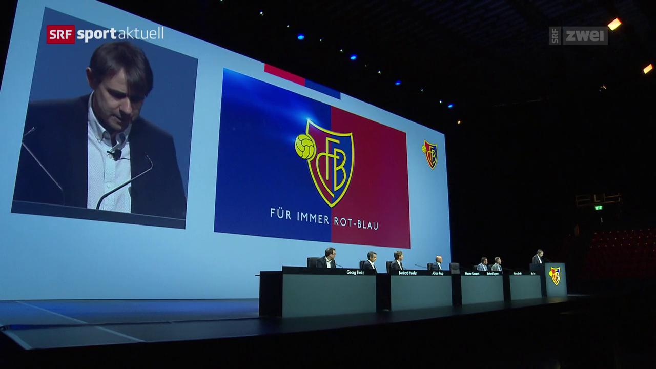 Der FC Basel erhält eine neue Führung