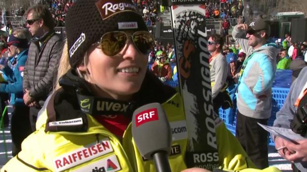 Video «Ski: Lara Gut im Interview» abspielen