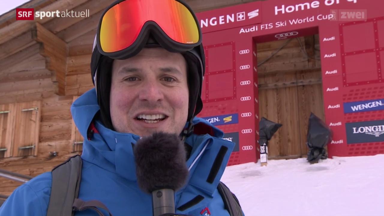 Ski Alpin: In Wengen mit Daniel Albrecht