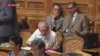 Video «Bundesratswahlen – erhält Cassis die Pole-Position?» abspielen