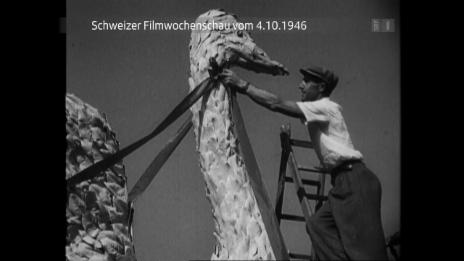Link öffnet eine Lightbox. Video Vom 4. Oktober 1946 abspielen