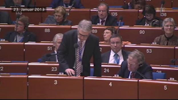 Video «Korruptionsskandal im Europarat» abspielen