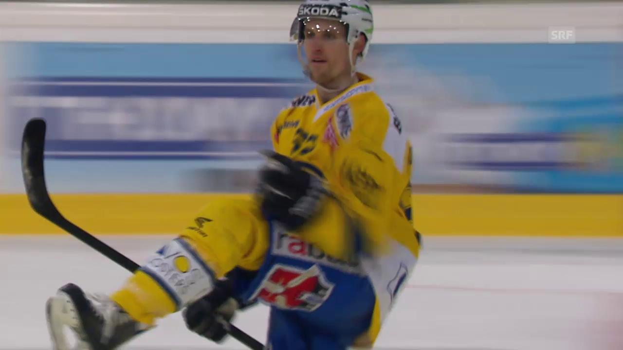 Eishockey: Playoff Halbfinal: Bern-Davos, 2:2 Du Bois