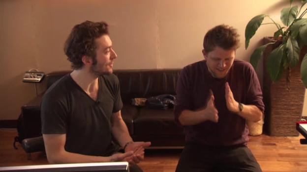 Video ««Le Fred» und Knackeboul im Studio» abspielen