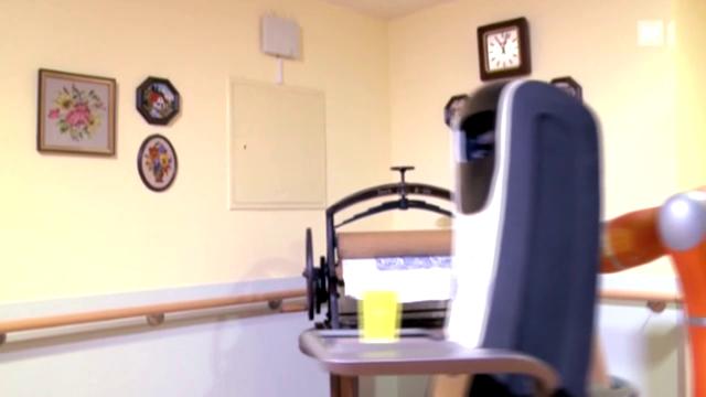 Roboter helfen im Altersheim