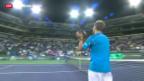 Video «Schweizer Tennis-Duell in Kalifornien» abspielen