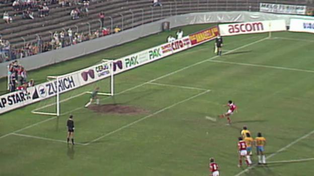 Video «Die Länderspiele Schweiz - Brasilien» abspielen