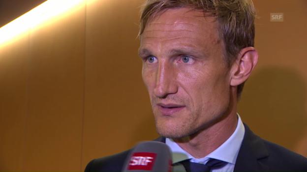 Video «Sami Hyypiä lässt seine Zukunft offen» abspielen