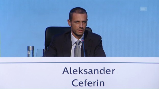 Video «Das sagt der neue Uefa-Präsident nach seiner Wahl» abspielen