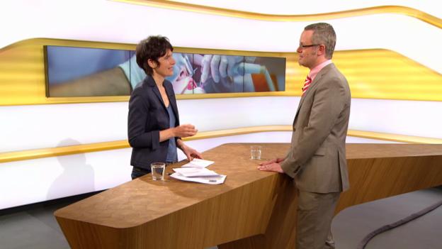 Video «Studiogespräch mit Thomas Grieder, Patientenanwalt» abspielen