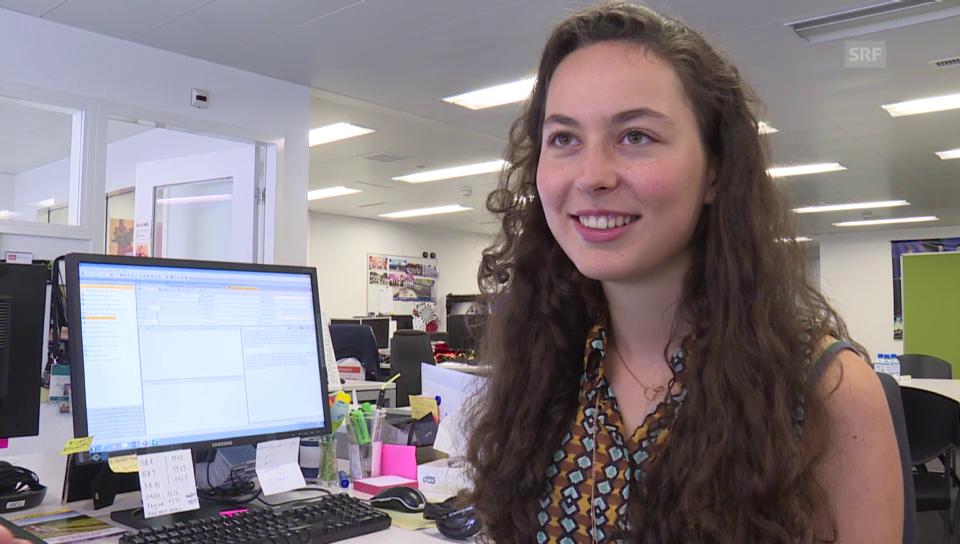 Lea Schawinski: Ihr erster Tag als Moderatorin