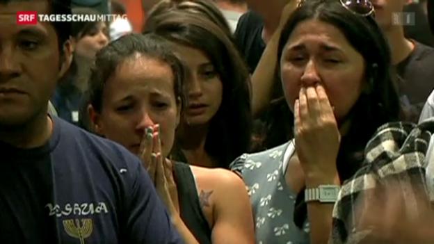 Video «Brasilien trauert um die Opfer des Feuers» abspielen