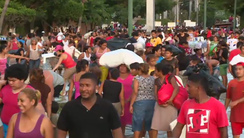 Plünderer in Acapulco