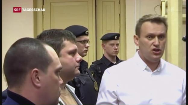 Video «Kremlkritiker Nawalny erneut verurteilt» abspielen