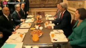 Video «Kerry bei Fabius in Paris» abspielen