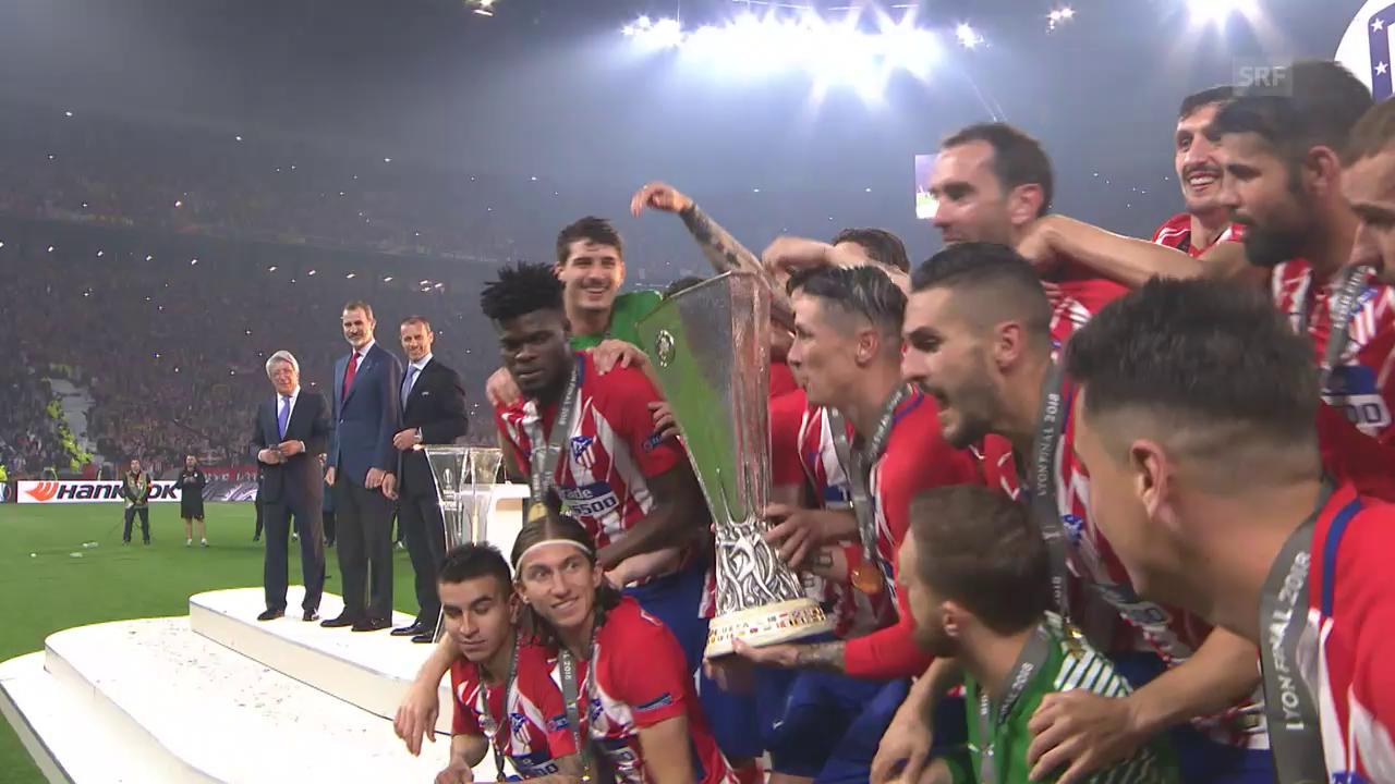 Atletico lässt Marseille im Final keine Chance