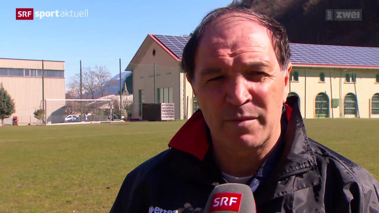 Super League: Besuch bei Sion-Trainer Raimondo Ponte