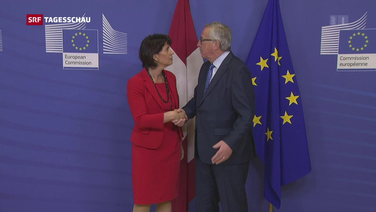 Schweiz und EU kommen sich wieder näher