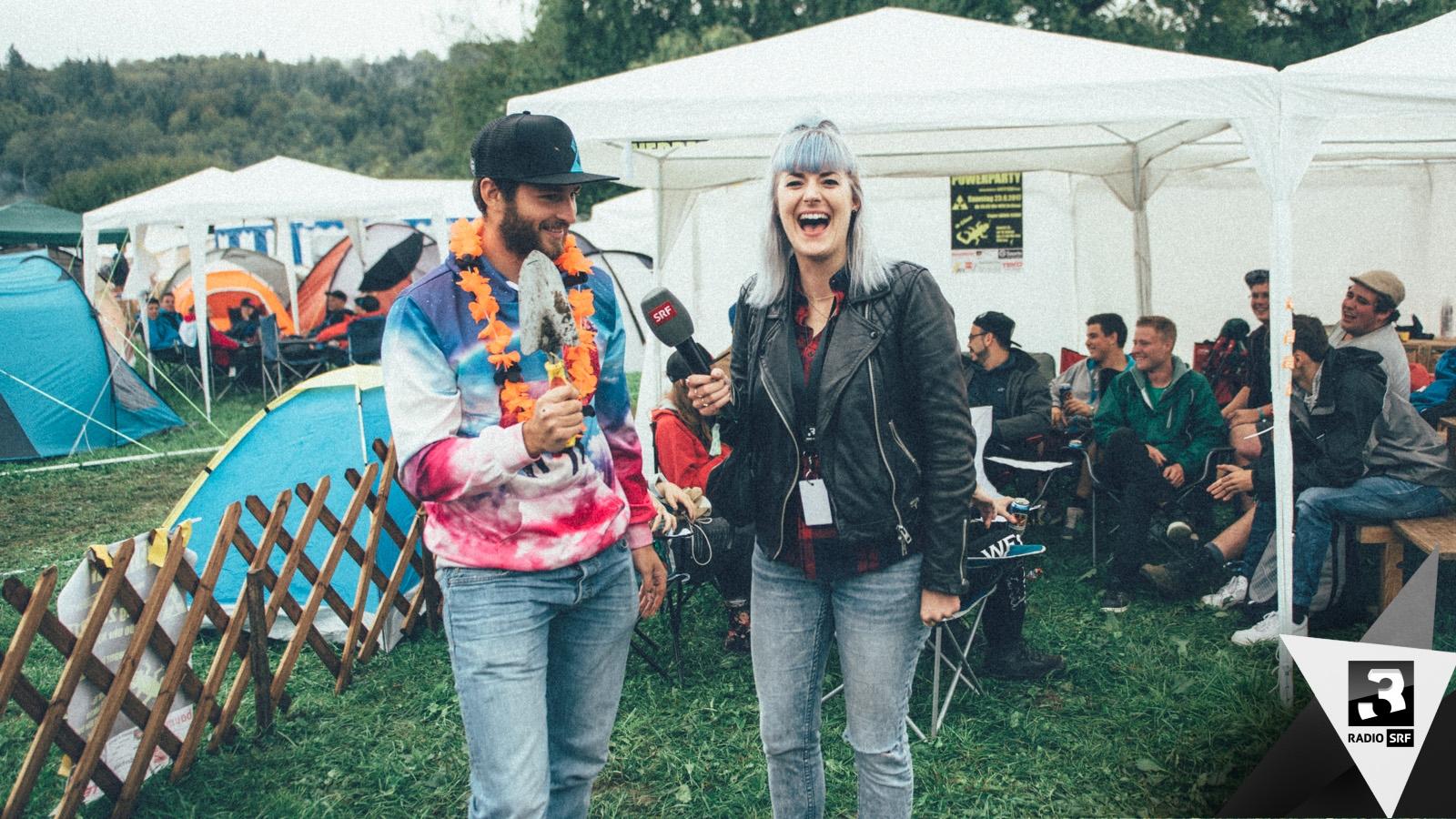 Heitere Open Air 2017: Warum schleppt ihr so viel Zeugs auf den Berg?