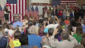 Video «FOKUS: Donald Trump und Hillary Clinton nehmen Stellung» abspielen