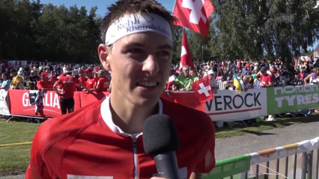 Video «Kyburz: «Das Grösste, das man gewinnen kann»» abspielen