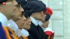 Video «Die Schweizer Gardisten als Fussballer» abspielen