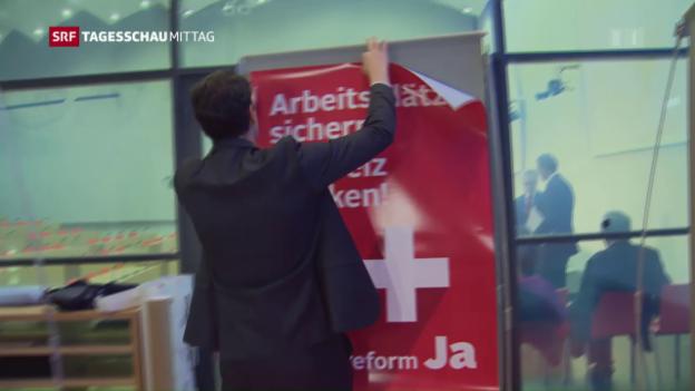 Video «Unternehmenssteuerreform: Es wird spannend» abspielen