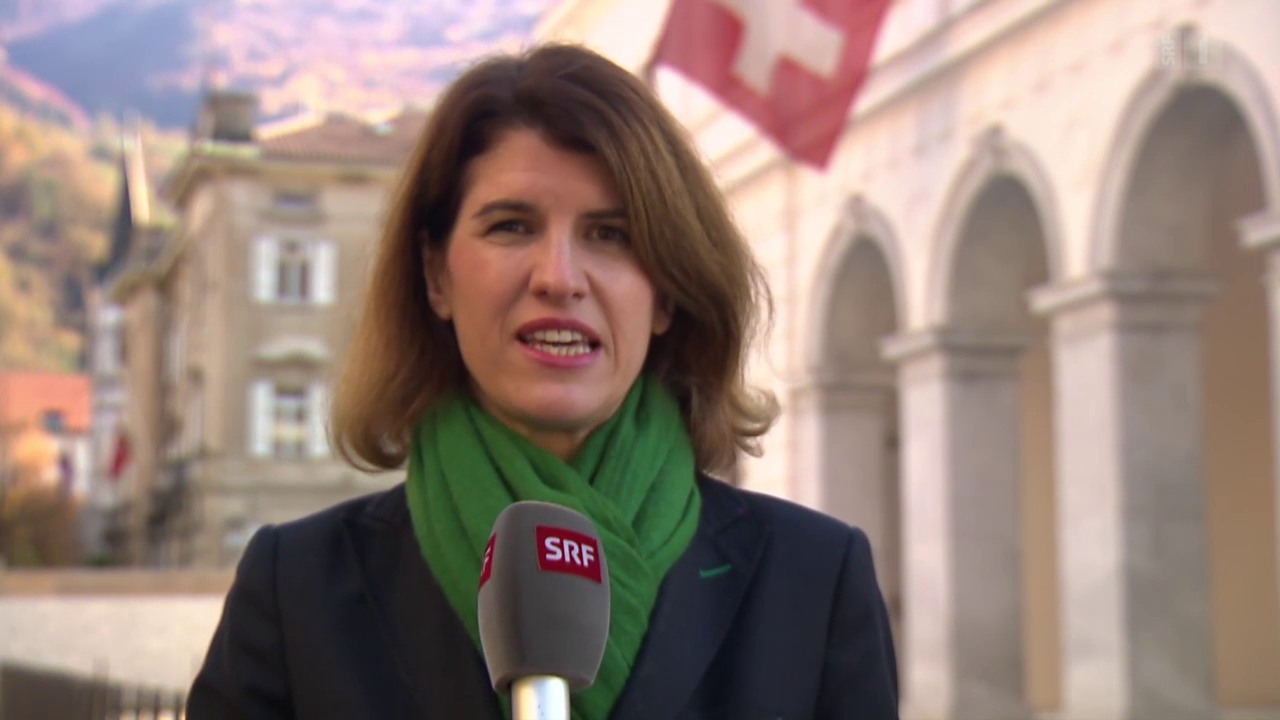 SRF-Reporterin Viviane Manz aus Bellinzona