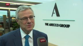 Video «Adecco-Gruppe wächst weiter» abspielen