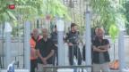 Video «Gebete gegen Sicherheitsverschärfungen auf dem Tempelberg» abspielen