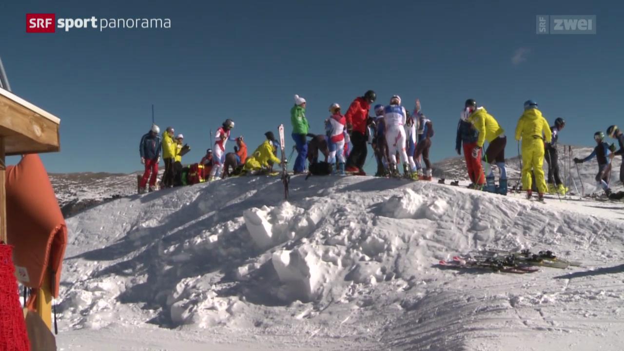 Schweizer Speed-Frauen in Copper Mountain