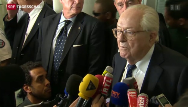 Video «Jean-Marie Le Pen will weiter politisieren» abspielen