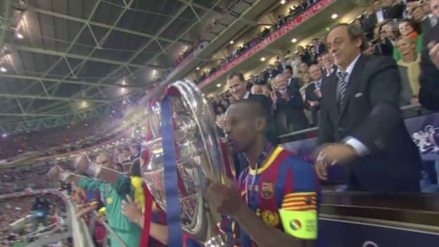 Video «Fussball: CL-Finals Barcelona 1986, 2011» abspielen