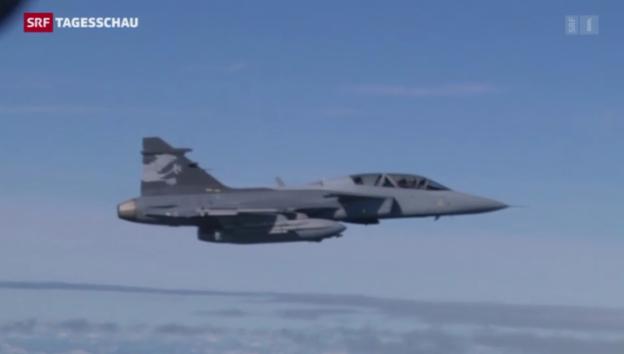 Video «Vom F/A 18 zum Gripen» abspielen