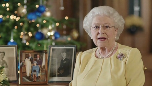Video «Weihnachtsansprache der Queen» abspielen