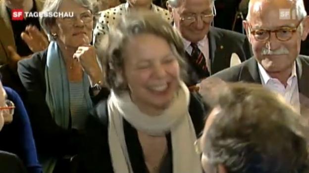 Video «Schweizerin gewinnt «Deutschen Buchpreis»» abspielen
