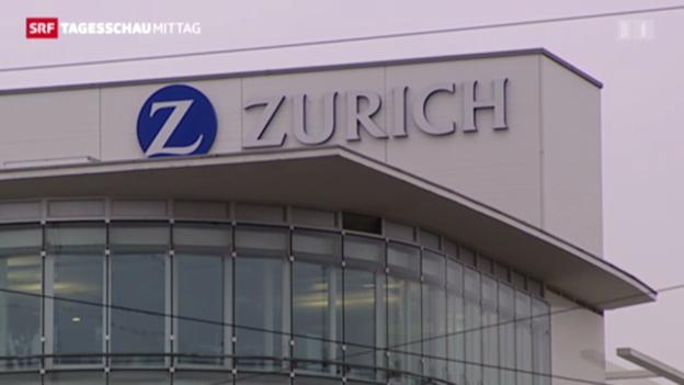 Video «Zurich präsentiert gute Zahlen für 2012» abspielen