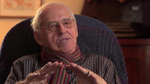 Video «Helmut Hubacher: «Es kann wahrscheinlich so nicht weitergehen.»» abspielen