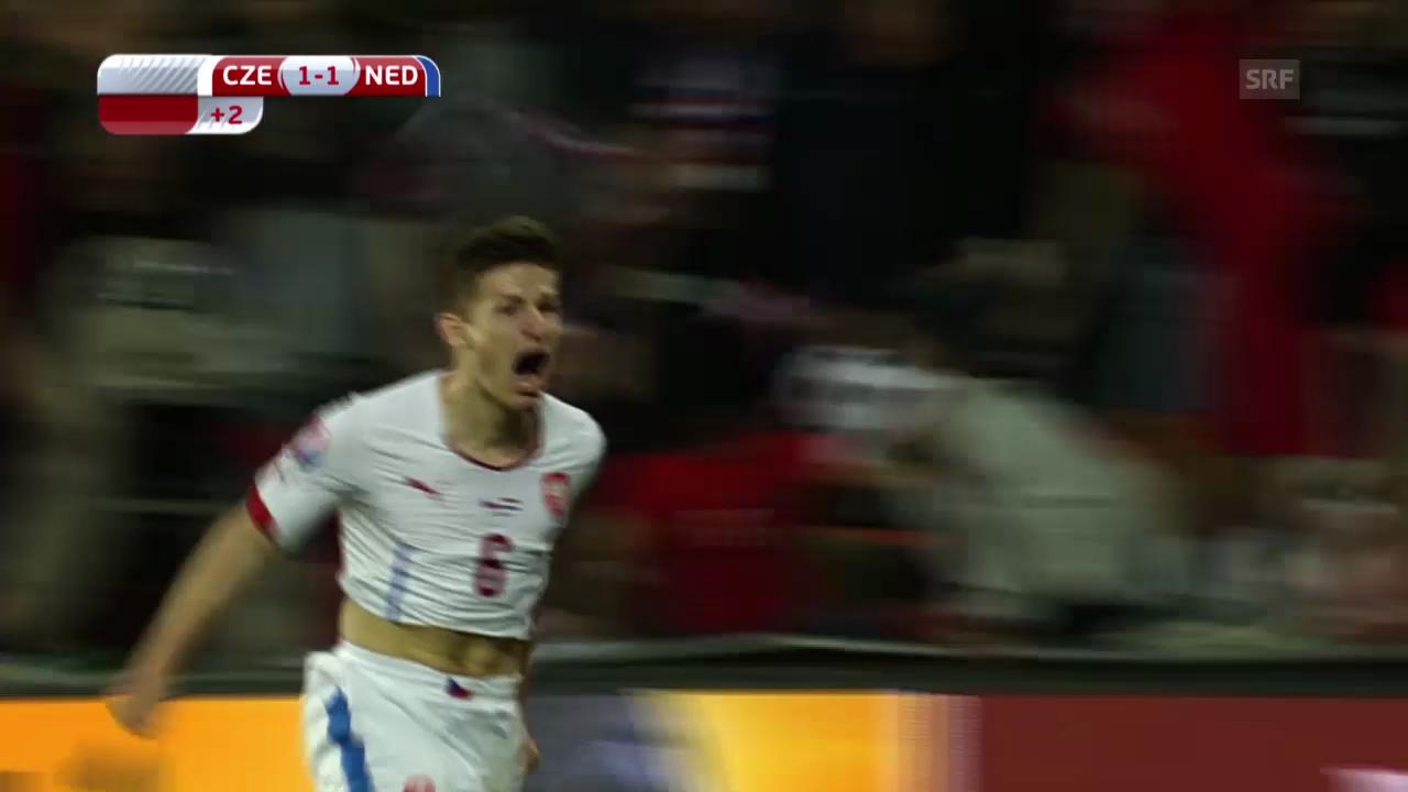 Fussball: EM-Quali, Tschechien - Niederlande