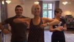 Video «Miss, Schwingerkönigin und Kunstturner: Rein in die Tanzschuhe» abspielen