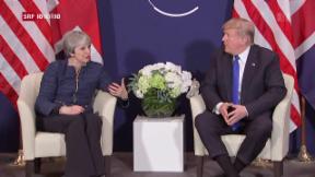 Video «FOKUS: Trump trifft am WEF May und Netanyahu» abspielen