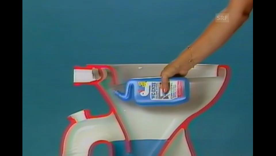 TV-Reklame für Toilettenreiniger von 1985