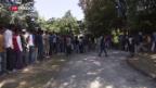 Video «SP-Delegation besucht Flüchtlinge in Como» abspielen